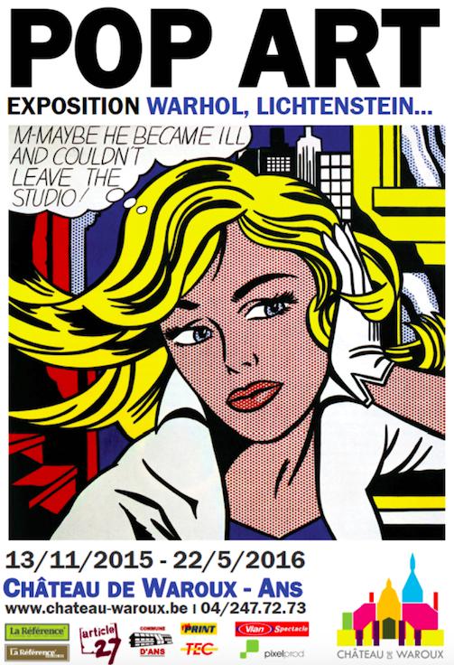 Expo «POP ART – WARHOL – LICHTENSTEIN»