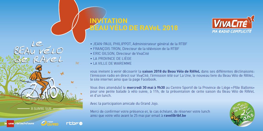 Beau Vélo de RAVeL 2018