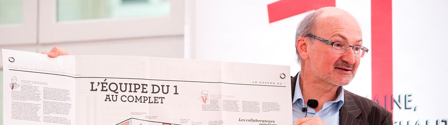 MidiCom :  Éric Fottorino – « Le lancement du 1 »
