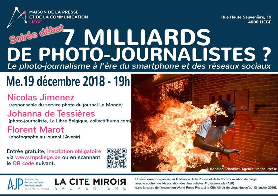 Conférence «L'avenir du Photojournalisme»