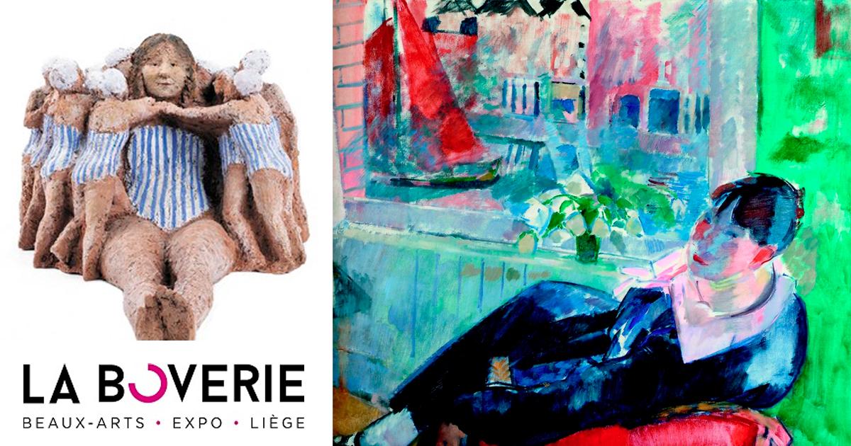 "Rétrospective Mady Andrien + Exposition ""Liège. Chefs-d'œuvre"""