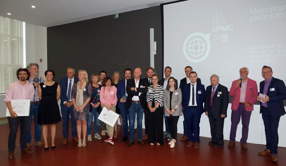 Les Lauréats des PRIX UPMC 2019