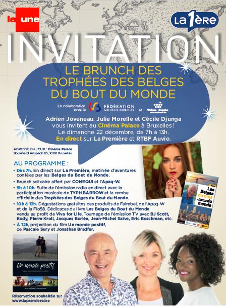 Trophées des belges du bout du monde …