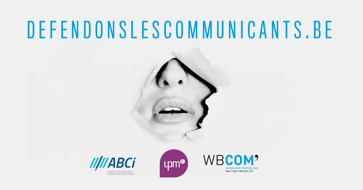 Covid-19 : l'ABCI, WB Com et l'UPMC s'unissent et lancent la plate-forme <b>defendonslescommunicants.be</b> pour obtenir des mesures de soutien