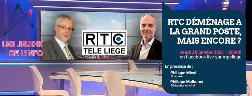 Les jeudis de l'info de la Maison de la Presse et de la Communication Liège